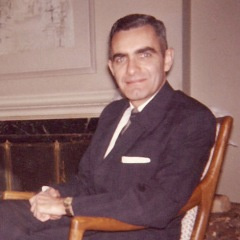 Arthur Kilgour in the 1960s