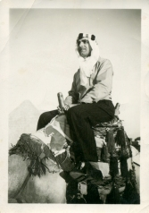 Arthur Kilgour in Egypt, circa 1955.