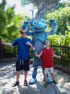 Payton and Kyle at Disney World in 2011